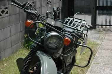 |防衛庁偵察用オートバイ ホンダXL250S