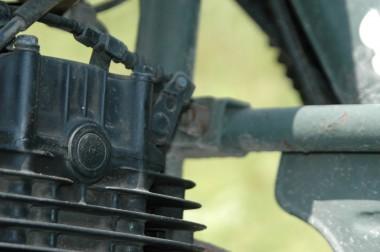 防衛庁 偵察用オートバイ ホンダXL250S
