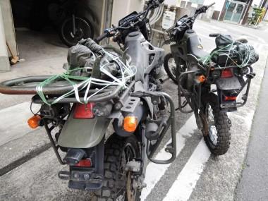 BOマーカーが付いているので、偵察隊用のオートバイであると思われる