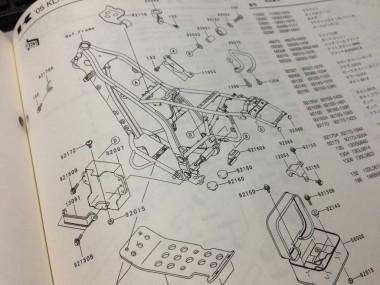 このプラ製工具箱、意外にも防衛供給パーツの為なのだ。恐らく一般には販売してもらえない筈だ。