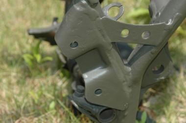 手作りの偵察オートバイXLR250Rでは、これらのパーツで60,000円ちかくの制作費がかかった(失敗作を含む)